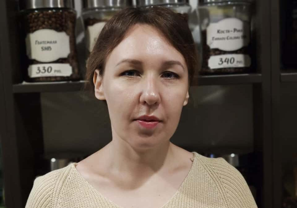 Юлия Акишева, продажа кофе, г.Первоуральск