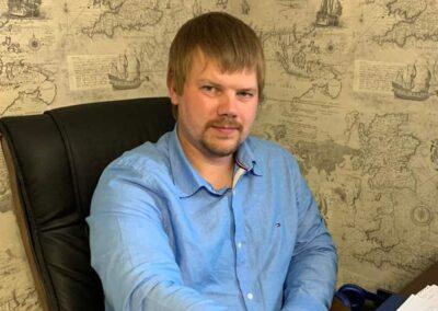 Никита Холодов, строительство, Архангельская область